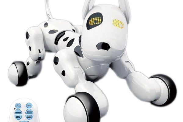 A rechargeable fun and intelligent robot pet dog from Hi-Tech Company can be a great gift for pet loving children ages 2 and up. Meet Dada, the wireless remote controllable robotic dog toy for kids. He is a perfect alternative for a real dog. He does not bite and attack anyone. Best of all, everyone can really learn valuable experiences from him, making him a fun educational toy. Let's reviewDada: Interactive Wireless Remote Control Robot Pet Dog review