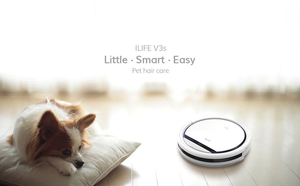 Ilife V3s A Smart Auto Cleaner For Pet Hair Technobark