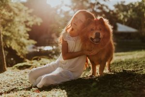 dogs improve human health