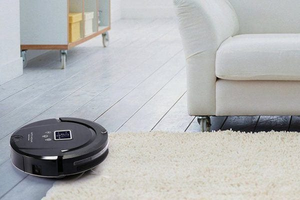 pet hair robotic vacuum cleaner