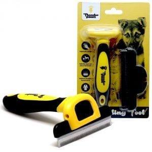 Thunderpaws D-Shedz Dog De-shedding Tool Review