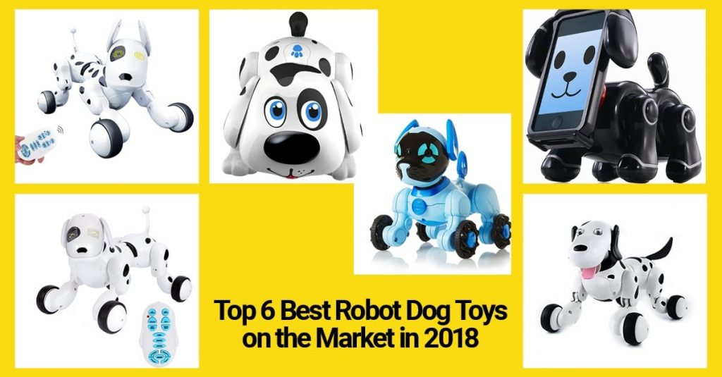 best robot dog toys