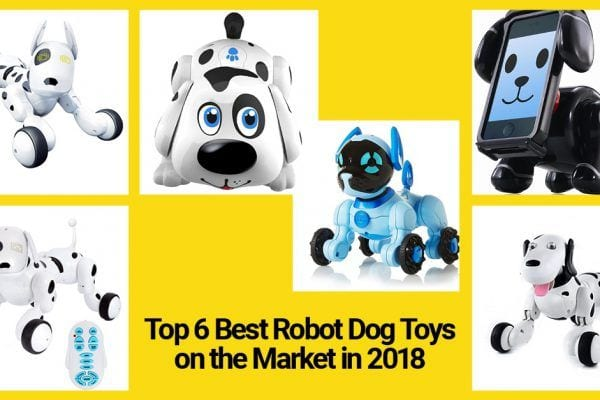 best robot dog toys