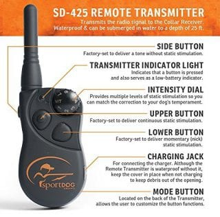SportDOG In-Ground Dog Fence System transmitter