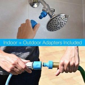 Aquapawdog bathing glove setup