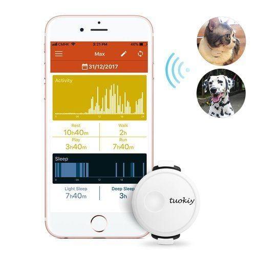 tuokiy dog and cat fitness tracker